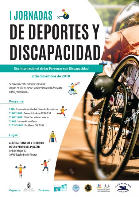 San Pedro del Pinatar celebrará el Día Internacional de las Personas con Discapacidad - 1, Foto 1