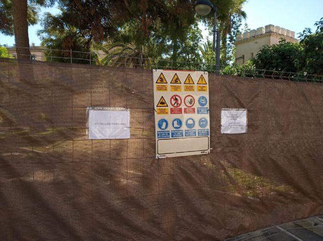 Acometen una rehabilitación integral del Jardín Padre Crisóstomo (Parque Azul) en el marco del programa de los Consejos Comarcales - 4, Foto 4
