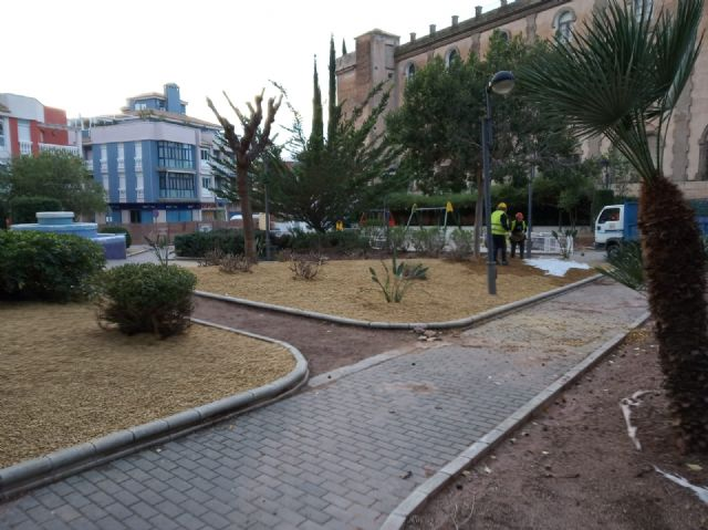 They undertake a comprehensive rehabilitation of the Padre Crisóstomo Garden (Parque Azul) within the framework of the district councils program, Foto 5
