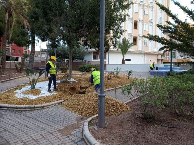 They undertake a comprehensive rehabilitation of the Padre Crisóstomo Garden (Parque Azul) within the framework of the district councils program, Foto 6