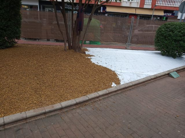 They undertake a comprehensive rehabilitation of the Padre Crisóstomo Garden (Parque Azul) within the framework of the district councils program, Foto 7