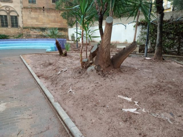 They undertake a comprehensive rehabilitation of the Padre Crisóstomo Garden (Parque Azul) within the framework of the district councils program, Foto 8