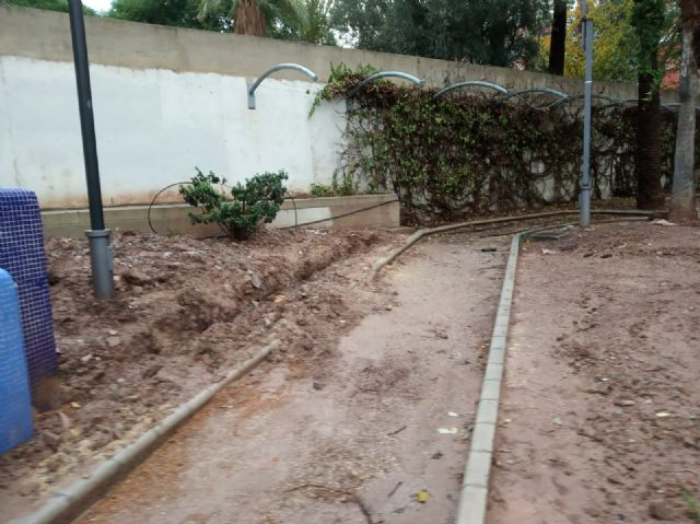 They undertake a comprehensive rehabilitation of the Padre Crisóstomo Garden (Parque Azul) within the framework of the district councils program, Foto 9