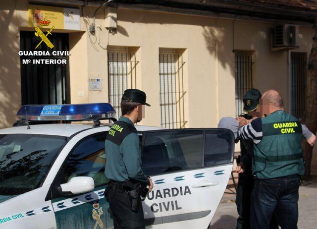 La Guardia Civil desmantela un grupo criminal dedicado a la comisión de robos en viviendas de la zona Sur murciana - 1, Foto 1