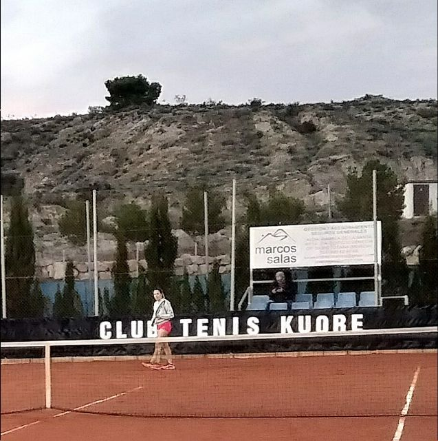 Third Matchday League Match of the Kuore Tennis Club of Totana against Mazarrón Tennis Club