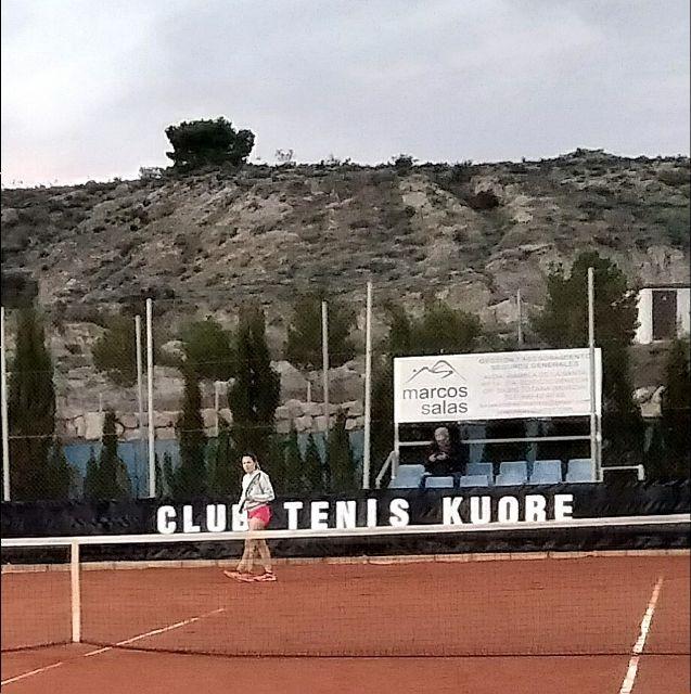 Third Matchday League Match of the Kuore Tennis Club of Totana against Mazarrón Tennis Club, Foto 1
