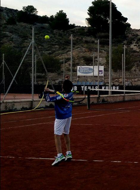 Third Matchday League Match of the Kuore Tennis Club of Totana against Mazarrón Tennis Club, Foto 3