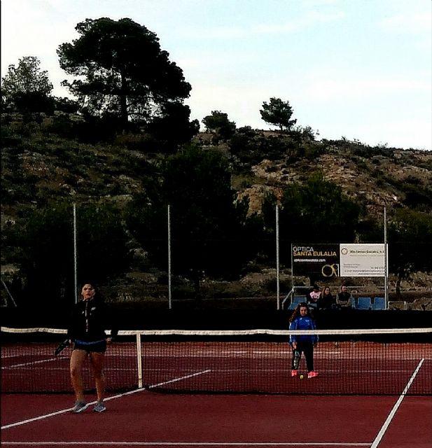 Third Matchday League Match of the Kuore Tennis Club of Totana against Mazarrón Tennis Club, Foto 4