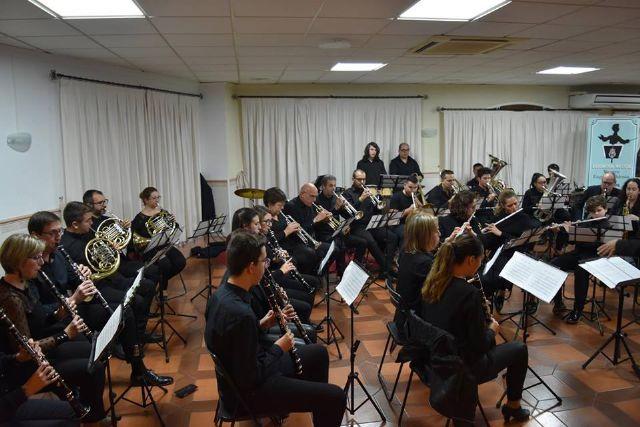 La Asoc. Musical Maestro Eugenio Calderón rindió homenaje a su patrona con un variado concierto ofrecido por sus tres agrupaciones musicales - 2, Foto 2