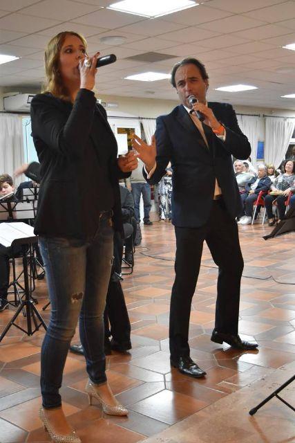 La Asoc. Musical Maestro Eugenio Calderón rindió homenaje a su patrona con un variado concierto ofrecido por sus tres agrupaciones musicales - 4, Foto 4
