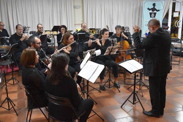 La Asoc. Musical Maestro Eugenio Calderón rindió homenaje a su patrona con un variado concierto ofrecido por sus tres agrupaciones musicales - 5, Foto 5
