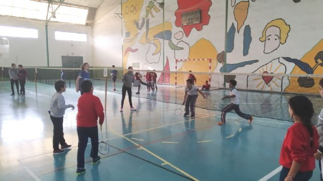 The School Hall hosted the Local Phase of School Sports Badminton