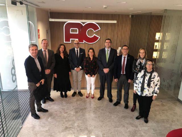 La Universidad de Murcia y la empresa Auxiliar Conservera estrechan lazos de colaboración - 1, Foto 1