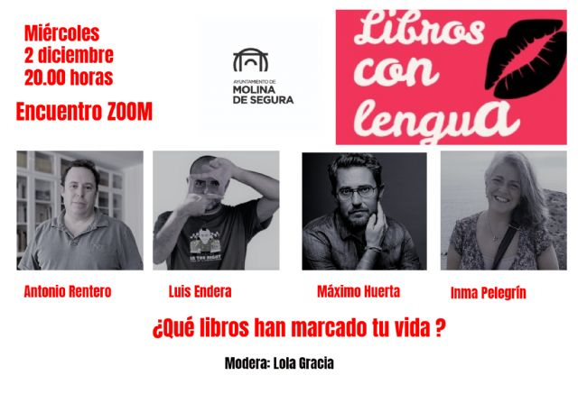 Maxim Huerta e Inma Pelegrín, invitados especiales en Libros con lengua II el próximo miércoles 2 de diciembre - 1, Foto 1