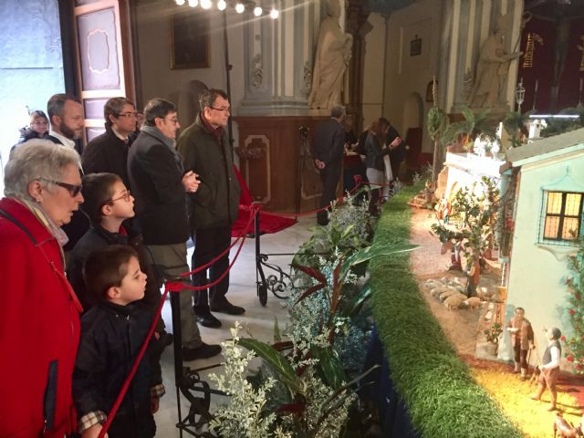 El belén de La Pava rinde homenaje a González Barnés con una figura conmemorativa - 1, Foto 1