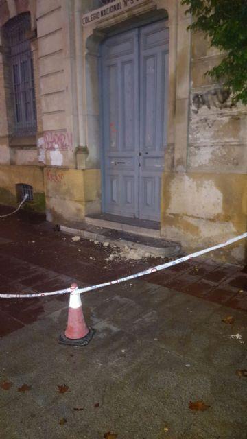 Cambiemos Murcia denuncia el estado de abandono del antiguo colegio del Carmen - 1, Foto 1