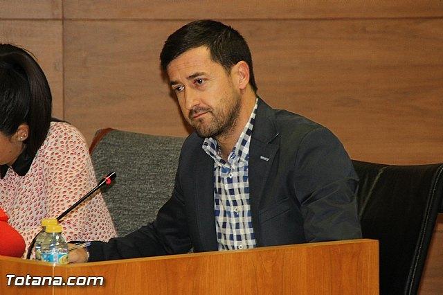 Asensio Soler,  portavoz del Grupo Municipal Ciudadanos Partido de La Ciudadanía / archivo Totana.com, Foto 1