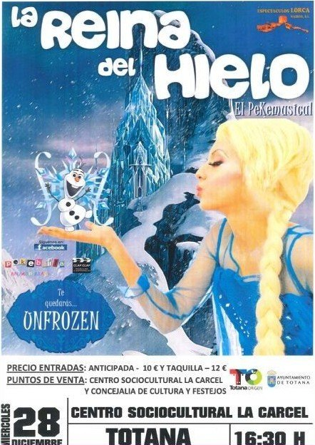 """The children's show """"The Ice Queen"""" is celebrated today in the """"La Cárcel"""" Sociocultural Center within the activities of """"Navidad y Reyes"""" - 1"""