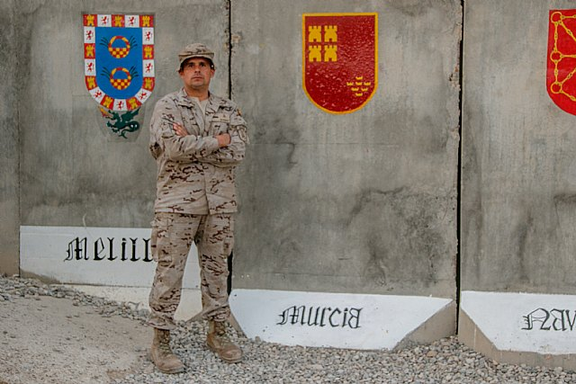 The totanero Nicolás Moreno, Corporal 1º of the Legion, is located in Iraq - 2