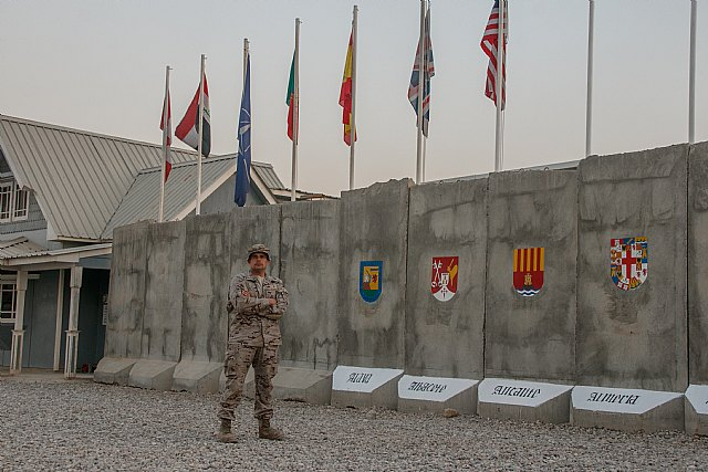The totanero Nicolás Moreno, Corporal 1º of the Legion, is located in Iraq - 3