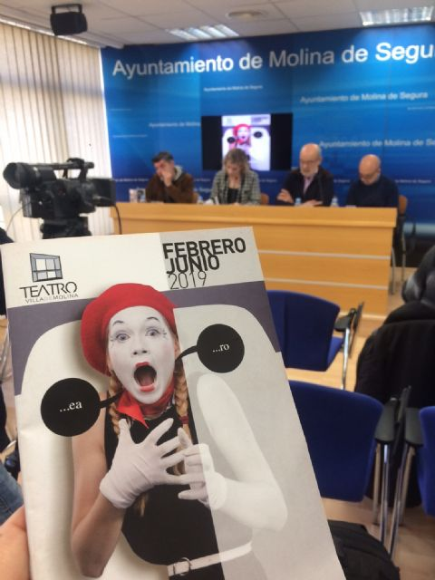 El Teatro Villa de Molina ofrece 23 espectáculos entre febrero y junio de 2019, a cargo de grandes nombres de la escena teatral española - 3, Foto 3