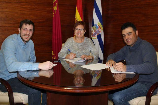 Firmados convenios con tres clubes deportivos por valor de 100.000 euros - 3, Foto 3