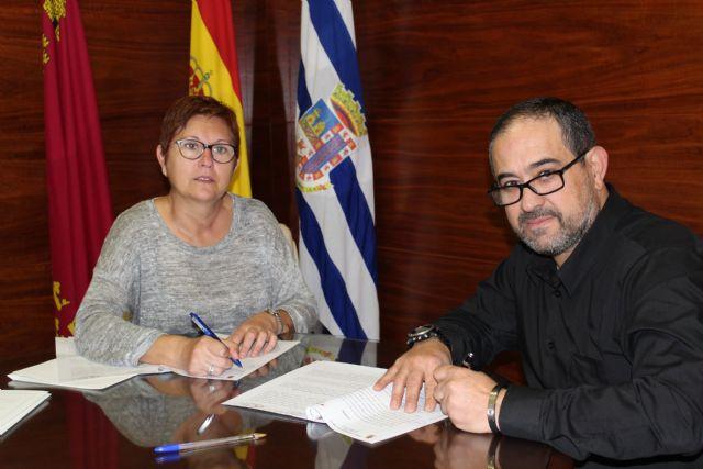 Ayuntamiento y Asociación Ruta del Vino firman convenio de colaboración de 12.000 euros - 1, Foto 1