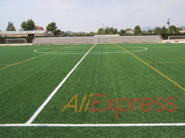 AliExpress patrocinará el campo de fútbol del Guadalentín (INOCENTADA), Foto 1