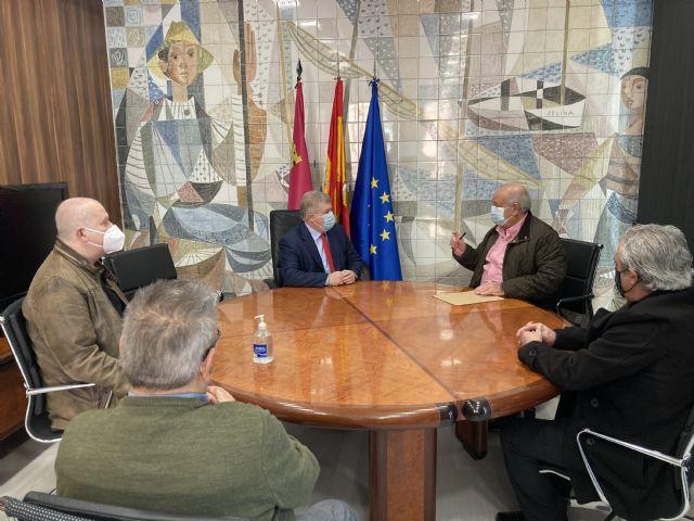 Vélez garantiza a los vecinos de Barriomar que la negociación será personal y justa, para la ocupación temporal por las obras del soterramiento del ferrocarril en Murcia - 1, Foto 1