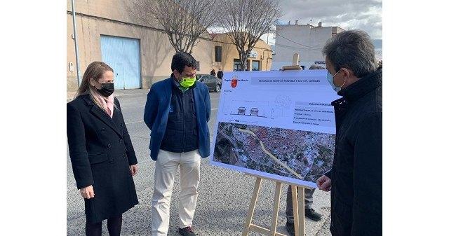La Comunidad invierte 356.000 euros en mejorar la carretera de Murcia - 1, Foto 1