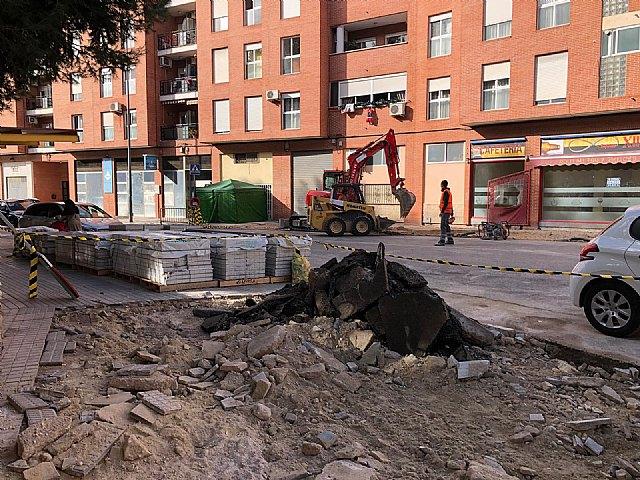 Cieza transforma sus calles para adaptarse al cambio climático y suavizar sus efectos en la ciudad - 1, Foto 1