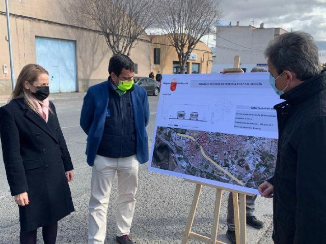 La Comunidad Autónoma invierte 356.000 euros en el asfaltado de la Carretera de Murcia a su paso por Cehegín - 1, Foto 1