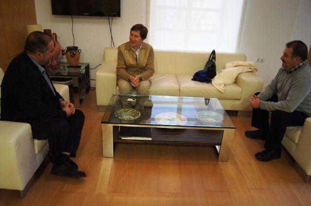 Autoridades municipales se reúnen con la nueva gerente del área de Salud III-Lorca
