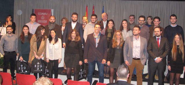 El consejero de Fomento asiste al acto de bienvenida de los 54 nuevos arquitectos colegiados - 1, Foto 1