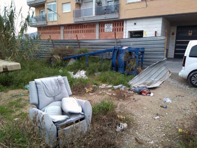 C's exige al PP una limpieza inmediata de los solares abandonados que degradan muchas zonas del sur de Murcia desde hace años - 3, Foto 3