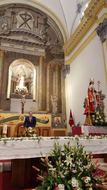 José Guillén destaca en su pregón de las fiestas en honor a San Blas y La Candelaria la huertanía y murcianía del barrio de Santa Eulalia - 1, Foto 1