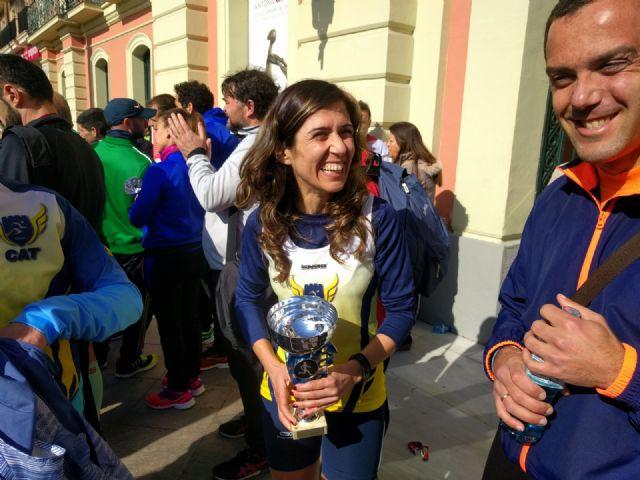 Varios miembros del Club Atletismo Totana participaron en la V Murcia Marat�n, Foto 3