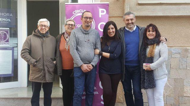 Podemos espera que el PSOE cumpla con su compromiso electoral y remunicipalice el servicio de aguas en Alhama, Foto 1