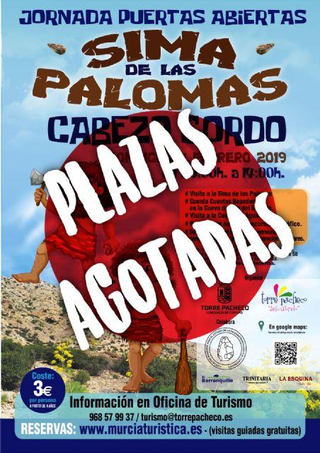 Plazas agotadas para disfrutar de la Sima de las Palomas, el domingo 24 de febrero. - 1, Foto 1