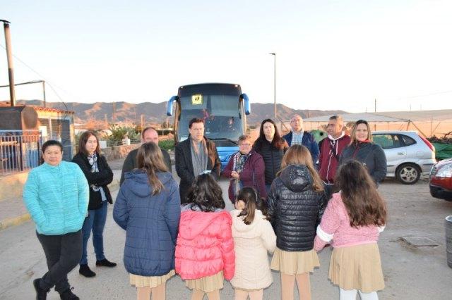 Ciudadanos exige al Gobierno regional que unos veinte niños de Águilas puedan utilizar el autobús escolar para asistir a clase - 1, Foto 1