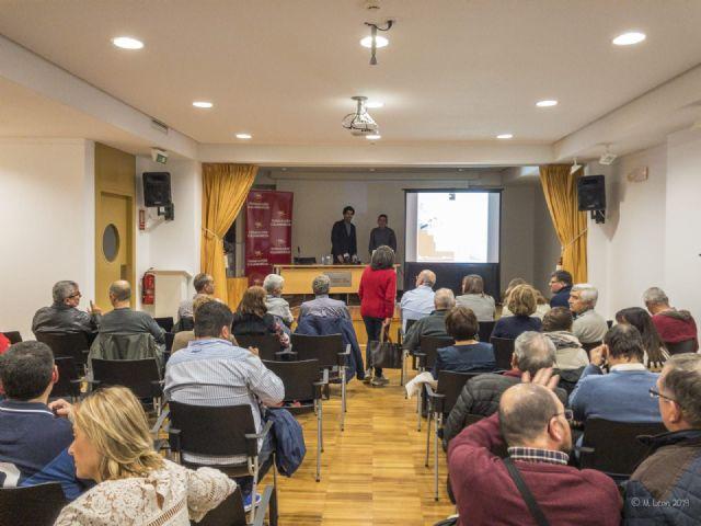 Éxito de asistencia en la conferencia El comercio en Águilas en época romana - 1, Foto 1