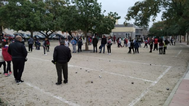 The Petanque Local Phase of the School Sports program took place at the Petanca Santa Eulalia Club facilities