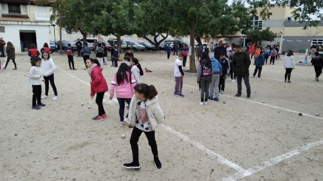 The Petanque Local Phase of the School Sports program took place at the Petanca Santa Eulalia Club facilities, Foto 2