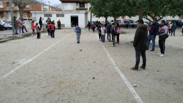 The Petanque Local Phase of the School Sports program took place at the Petanca Santa Eulalia Club facilities, Foto 4