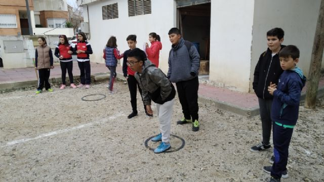 The Petanque Local Phase of the School Sports program took place at the Petanca Santa Eulalia Club facilities, Foto 8