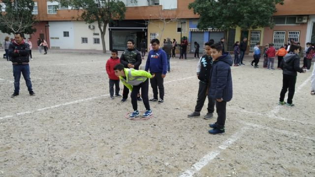 The Petanque Local Phase of the School Sports program took place at the Petanca Santa Eulalia Club facilities, Foto 9