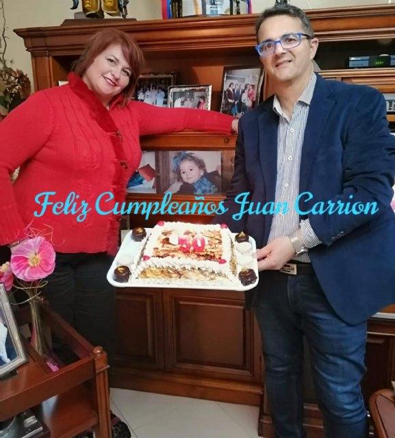 Feliz cumpleaños, Juan Carrión