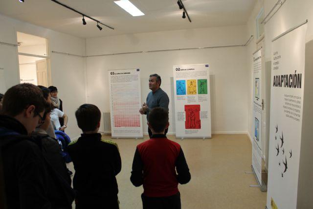 Unos 400 alumnos visitan la exposición sobre el Cambio Climático - 2, Foto 2