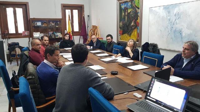 Primera reunión en Cieza de agentes del proyecto E-MOB - 1, Foto 1