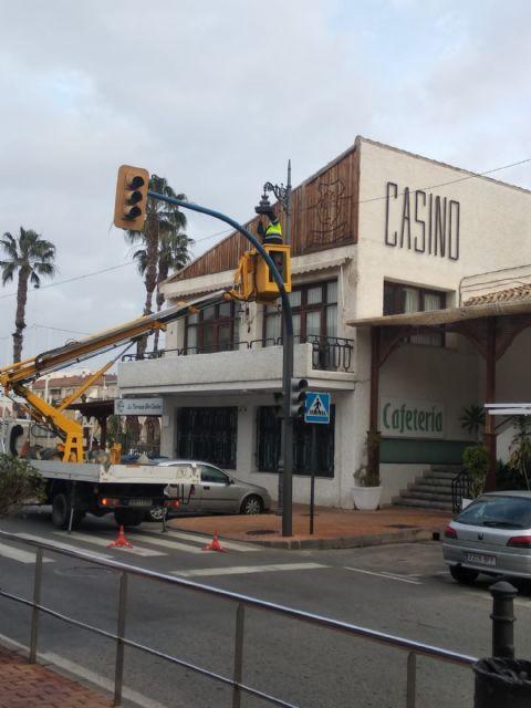 El Ayuntamiento de San Pedro del Pinatar renueva parte del alumbrado público con luminarias led - 1, Foto 1